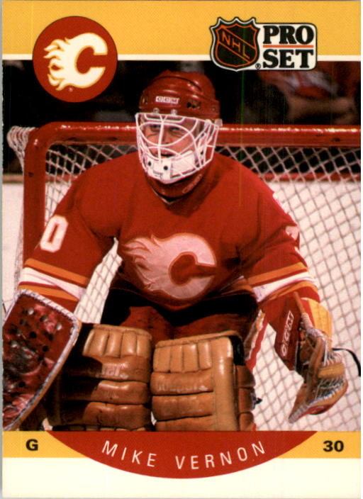 1990-91 Pro Set #47 Mike Vernon