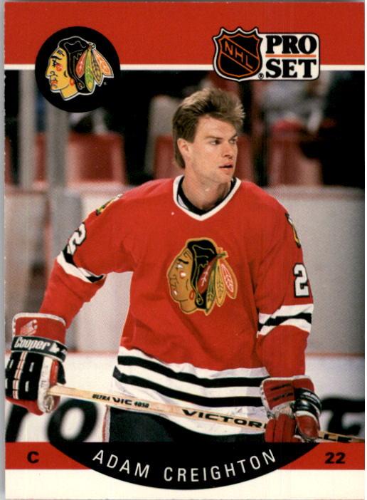 1990-91 Pro Set #50 Adam Creighton