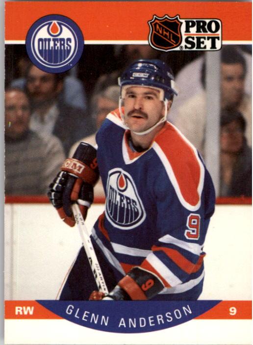 1990-91 Pro Set #81 Glenn Anderson