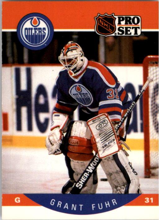 1990-91 Pro Set #82 Grant Fuhr