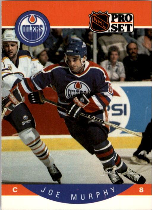 1990-91 Pro Set #93 Joe Murphy RC