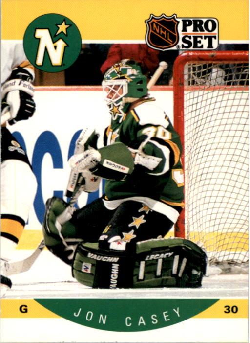 1990-91 Pro Set #133 Jon Casey
