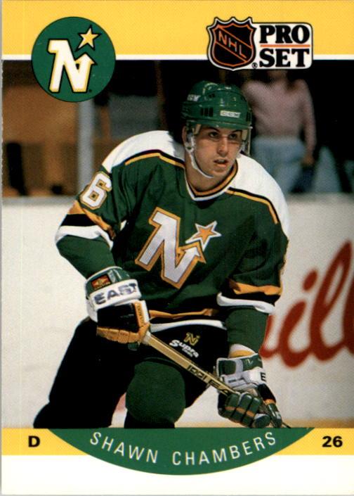 1990-91 Pro Set #134 Shawn Chambers