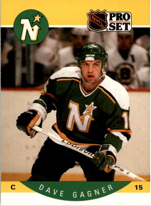 1990-91 Pro Set #138 Dave Gagner