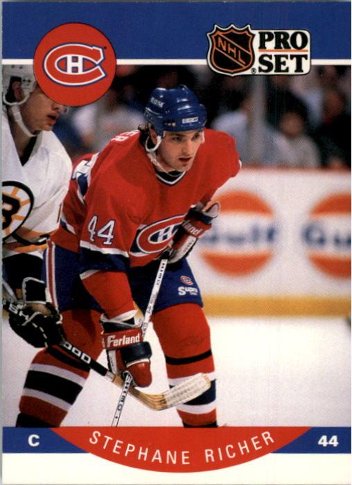 1990-91 Pro Set #156 Stephane Richer