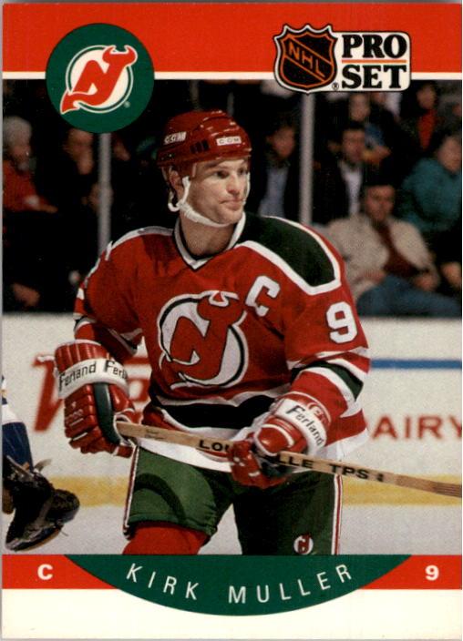 1990-91 Pro Set #172 Kirk Muller