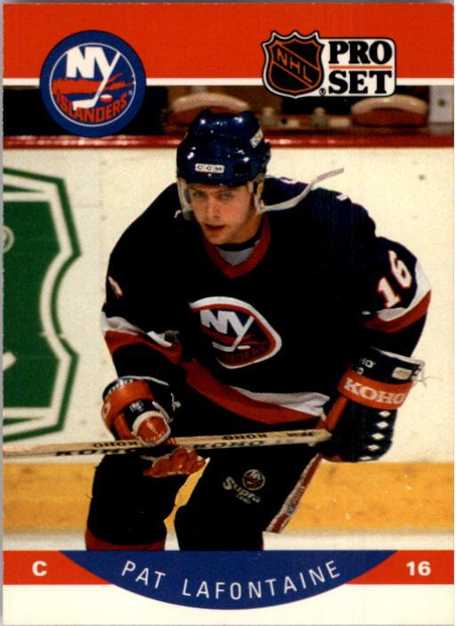 1990-91 Pro Set #186 Pat LaFontaine