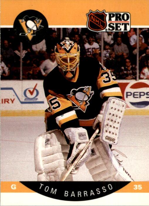 1990-91 Pro Set #227 Tom Barrasso