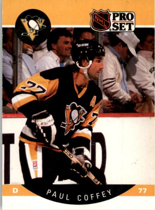 1990-91 Pro Set #231 Paul Coffey