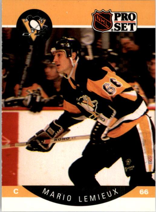 1990-91 Pro Set #236 Mario Lemieux