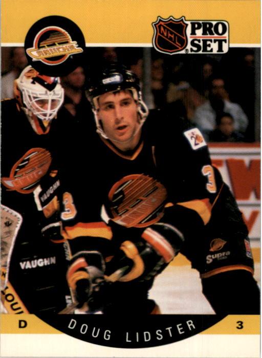 1990-91 Pro Set #298 Doug Lidster