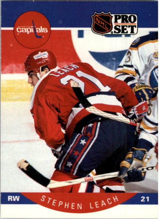 1990-91 Pro Set #315 Stephen Leach