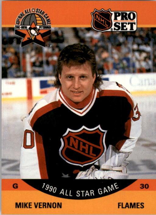 1990-91 Pro Set #338 Mike Vernon AS