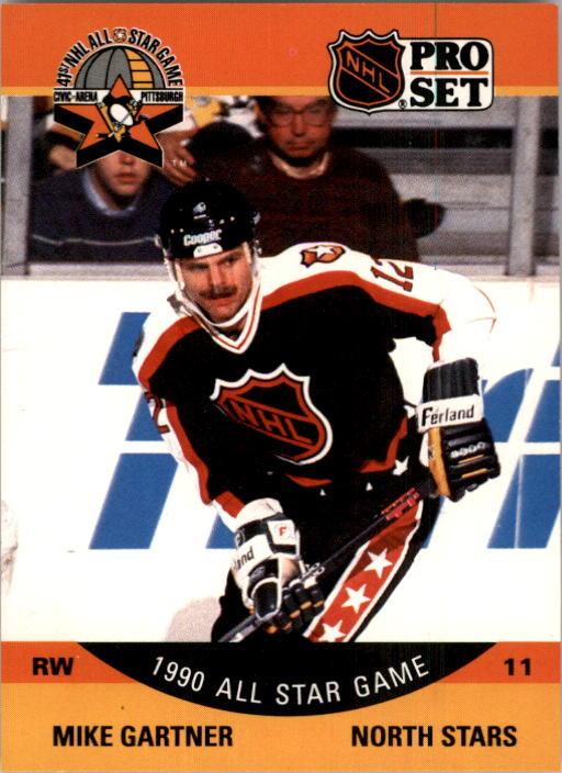 1990-91 Pro Set #351 Mike Gartner AS