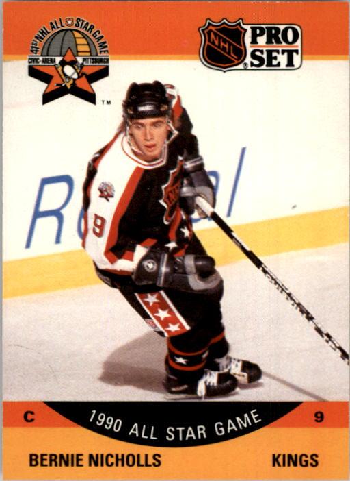 1990-91 Pro Set #352 Bernie Nicholls AS