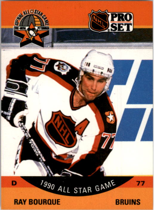 1990-91 Pro Set #357 Ray Bourque AS