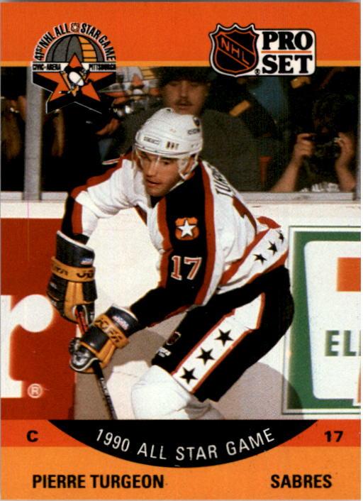 1990-91 Pro Set #366 Pierre Turgeon AS