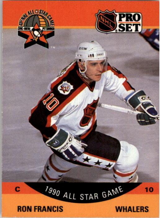 1990-91 Pro Set #367 Ron Francis AS