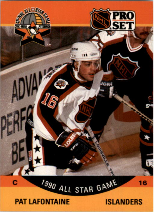 1990-91 Pro Set #372 Pat LaFontaine AS