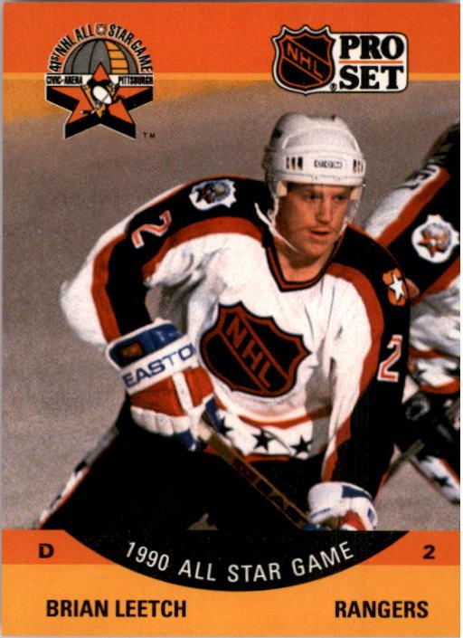 1990-91 Pro Set #373 Brian Leetch AS