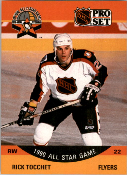 1990-91 Pro Set #374 Rick Tocchet AS