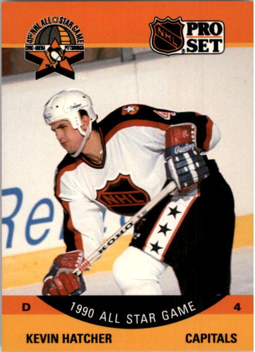 1990-91 Pro Set #376 Kevin Hatcher AS