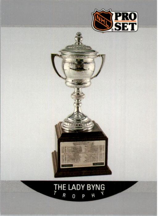 1990-91 Pro Set #378 Brett Hull Byng UER/(Should be Lady Byng/Memorial Trophy)