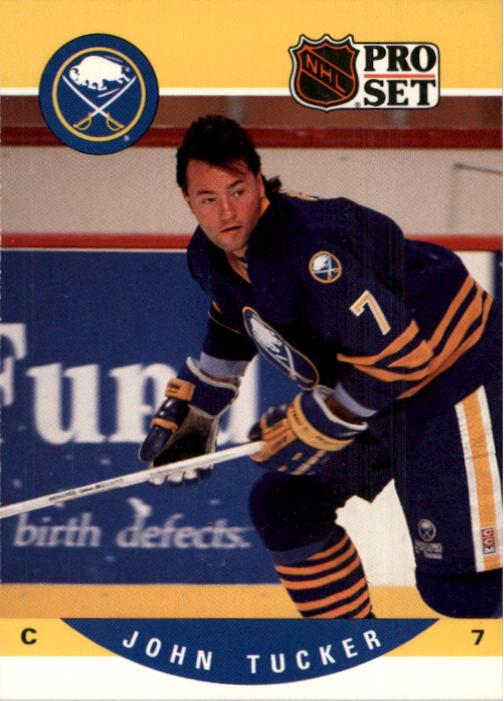 1990-91 Pro Set #420 John Tucker