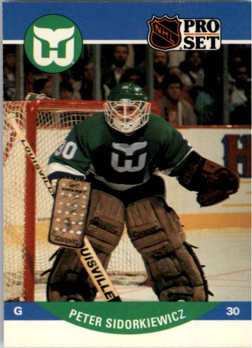 1990-91 Pro Set #451 Peter Sidorkiewicz