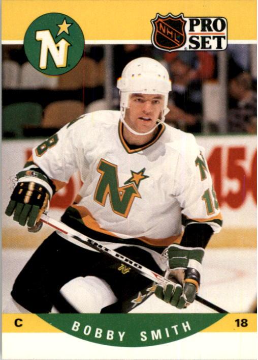 1990-91 Pro Set #463 Bobby Smith
