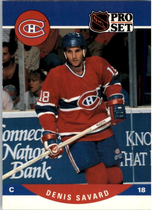 1990-91 Pro Set #473 Denis Savard