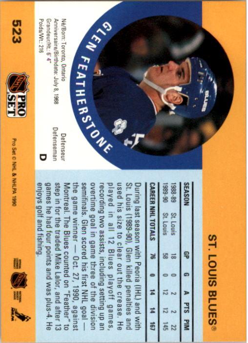 1990-91-Pro-Set-Hockey-s-460-705-Rookies-You-Pick-Buy-10-cards-FREE-SHIP