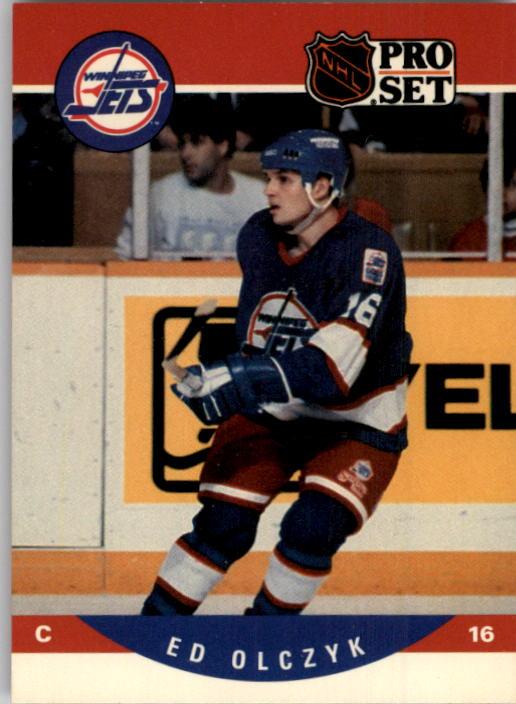 1990-91 Pro Set #563 Ed Olczyk