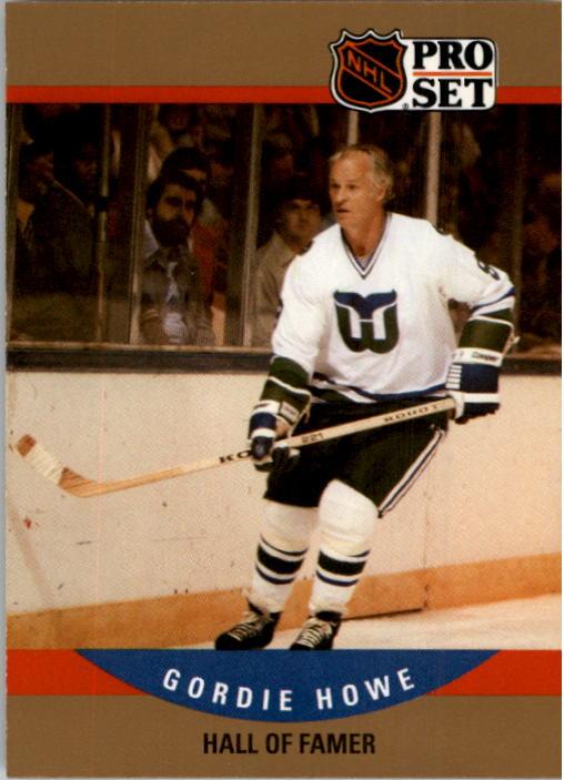 1990-91 Pro Set #660 Gordie Howe HOF