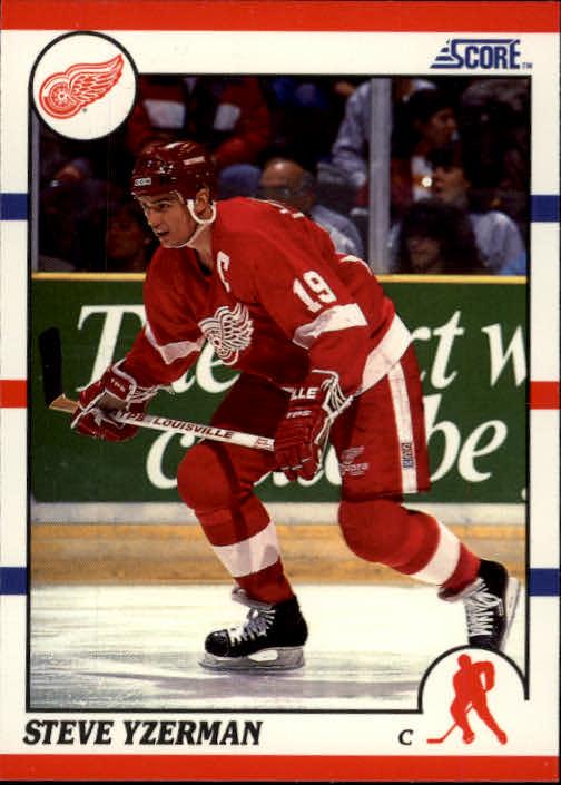1990-91 Score #3 Steve Yzerman