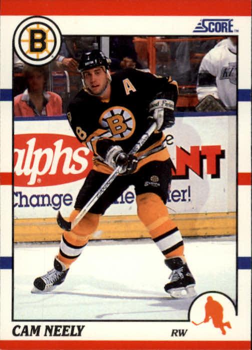 1990-91 Score #4 Cam Neely