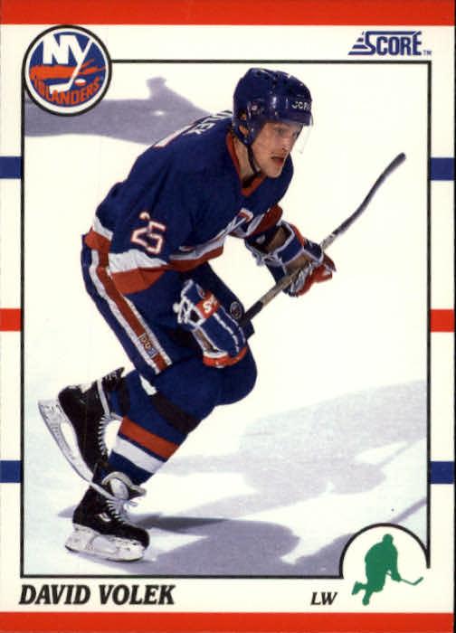1990-91 Score #12 David Volek