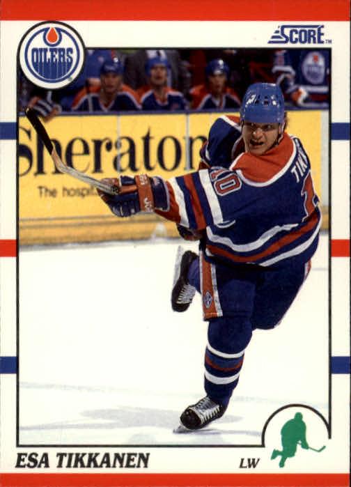 1990-91 Score #13 Esa Tikkanen