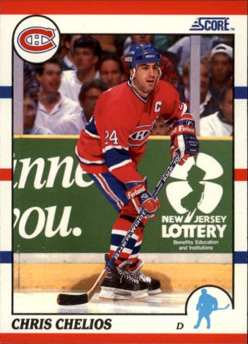 1990-91 Score #15 Chris Chelios