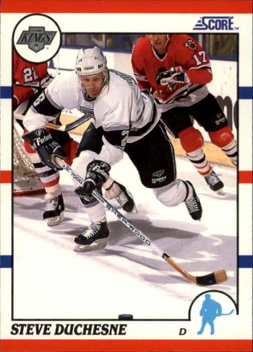 1990-91 Score #26 Steve Duchesne