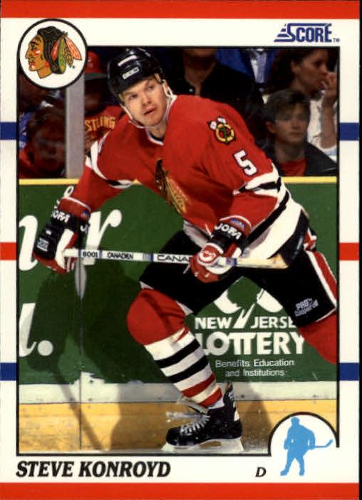 1990-91 Score #29 Steve Konroyd