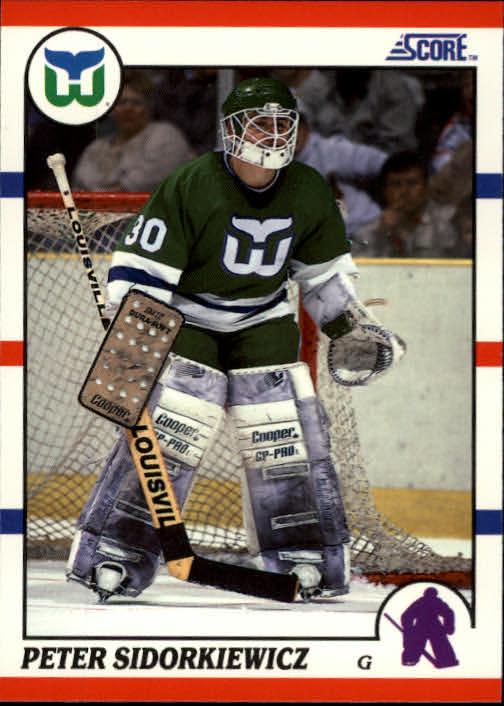 1990-91 Score #46 Peter Sidorkiewicz