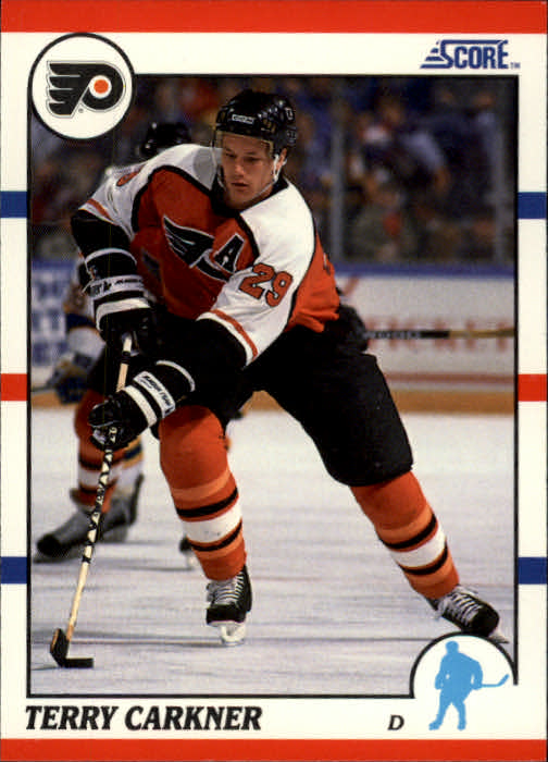 1990-91 Score #47 Terry Carkner