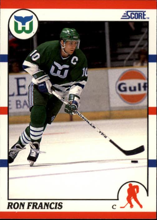 1990-91 Score #70 Ron Francis