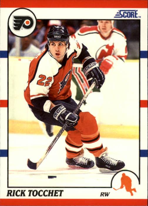 1990-91 Score #80 Rick Tocchet