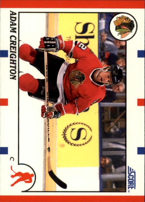 1990-91 Score #82 Adam Creighton