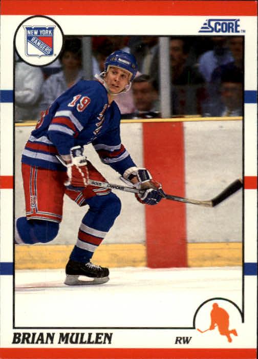1990-91 Score #84 Brian Mullen