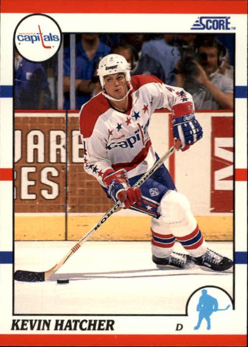 1990-91 Score #90 Kevin Hatcher