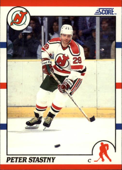 1990-91 Score #96 Peter Stastny