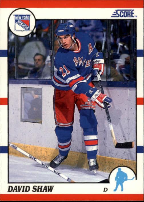 1990-91 Score #98 David Shaw
